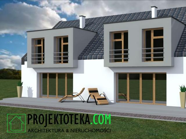 Projekt Domu Jednorodzinnego Dwulokalowego Projektoteka