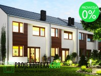 """Dom w cenie mieszkania! Segment """"D"""" szeregowca o powierzchni 84,80 m2 z własnym ogrodem o powierzchni 70 m2. Kupujący nie płaci prowizji ani PCC!"""