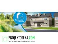 Domy jednorodzinne dwulokalowe położone w Biedrusku k. Poznania nad dużym stawem!